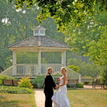 Couple by Gazebo