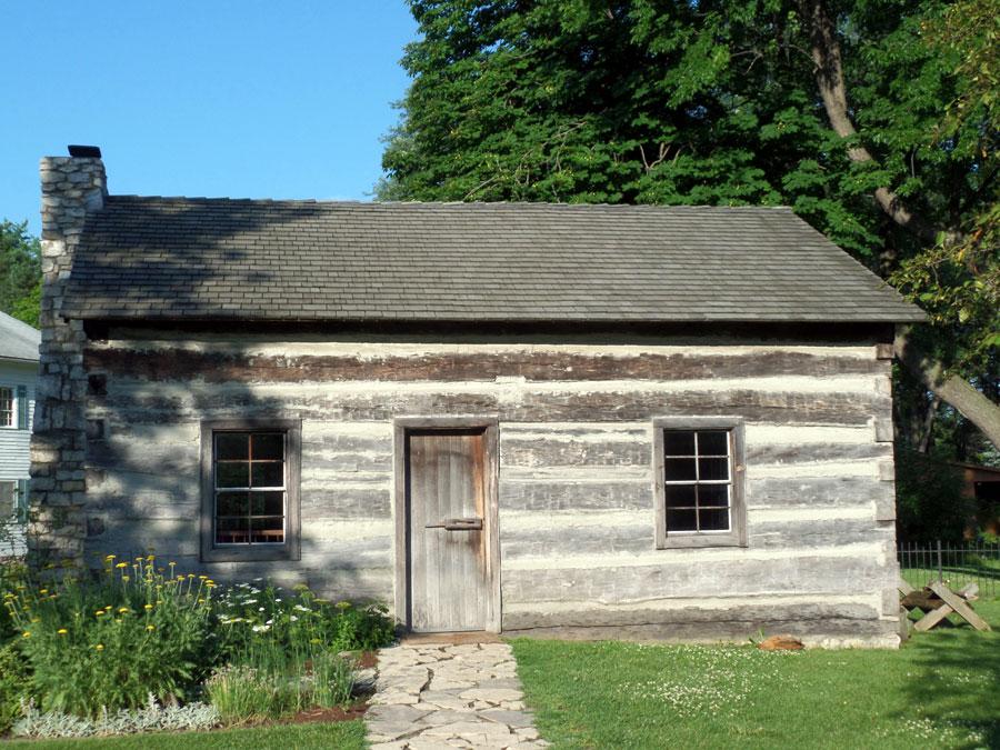 Log Cabin – Troy Historic Village