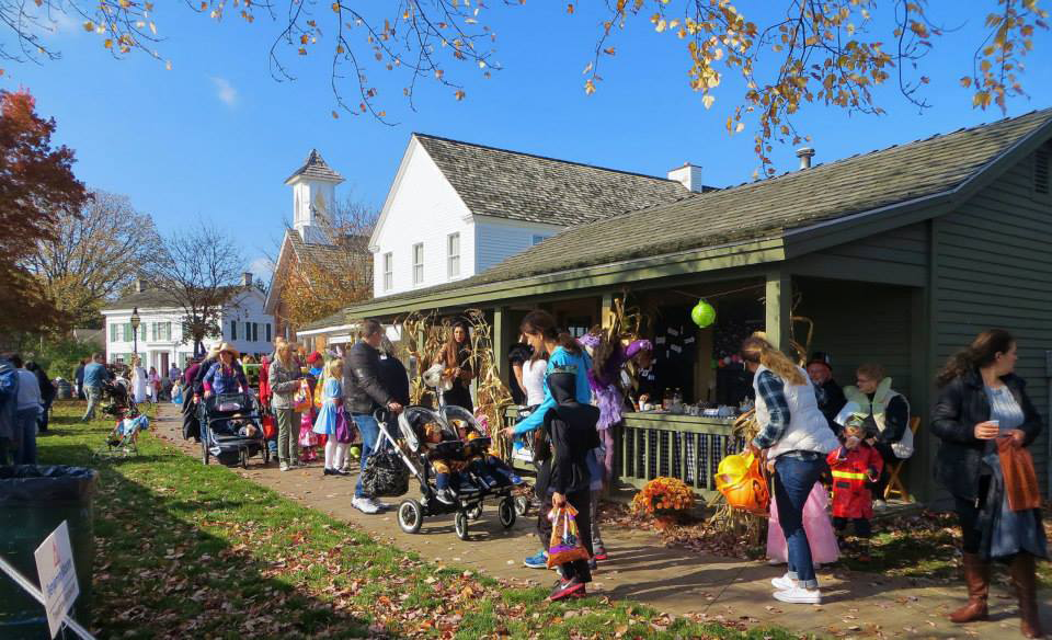 Village Trick or Treating