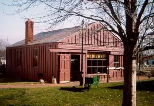 wagon shop restored