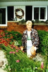 3-26-15-Louise Schilling in Garden