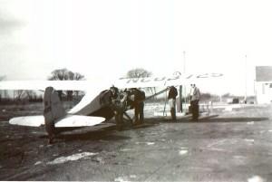 berz airport ca 1950