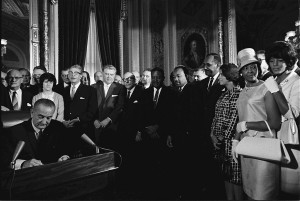 8-27-15-LyndonJohnson_signs_Voting_Rights_Act_of_1965