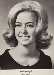 9-15-15Many popular hairstyles for women in 1965 used teasing to  increase volume.