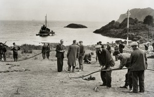 9-25-15-Transatlantic-telephone-cable-operations-Oban  Scotland