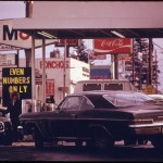 10-19-15-February 1974,only cars with even last numbers on their  plates could get gas