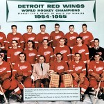 10-9-15-1955 Detroit Red Wings