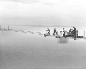 11-2-15-Mackinac Bridge tower construction