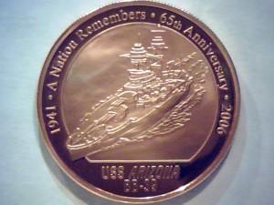 12-7-15-Pearl Harbor Medal