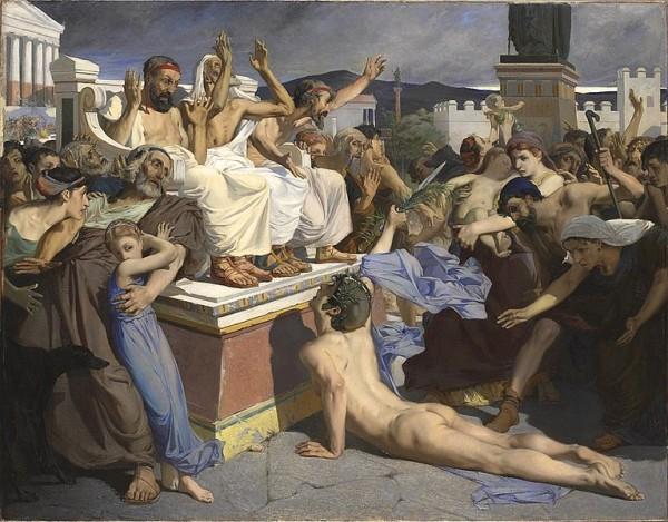 Pheidippides Painting