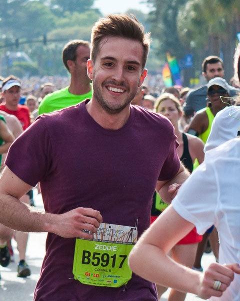 Photogenic runner