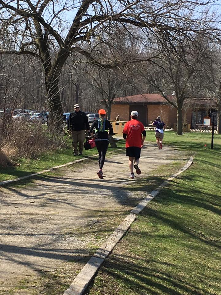 Running with Dad—this was a great surprise and so much fun! Once a cross-country runner, Dad really hasn't been able to run since a ski accident nearly 14 years ago, so it was really special to hit the trail with him for a few miles.