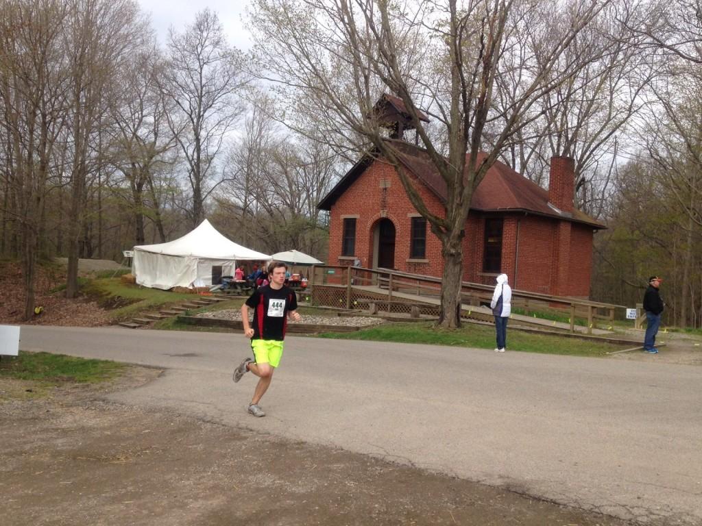 school house on race course