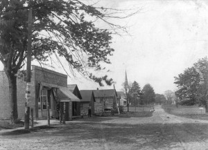 Looking north from Big Beaver, ca. 1914