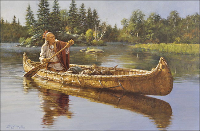 birch-bark-canoe