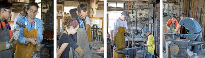 Blacksmithing 4 pictures