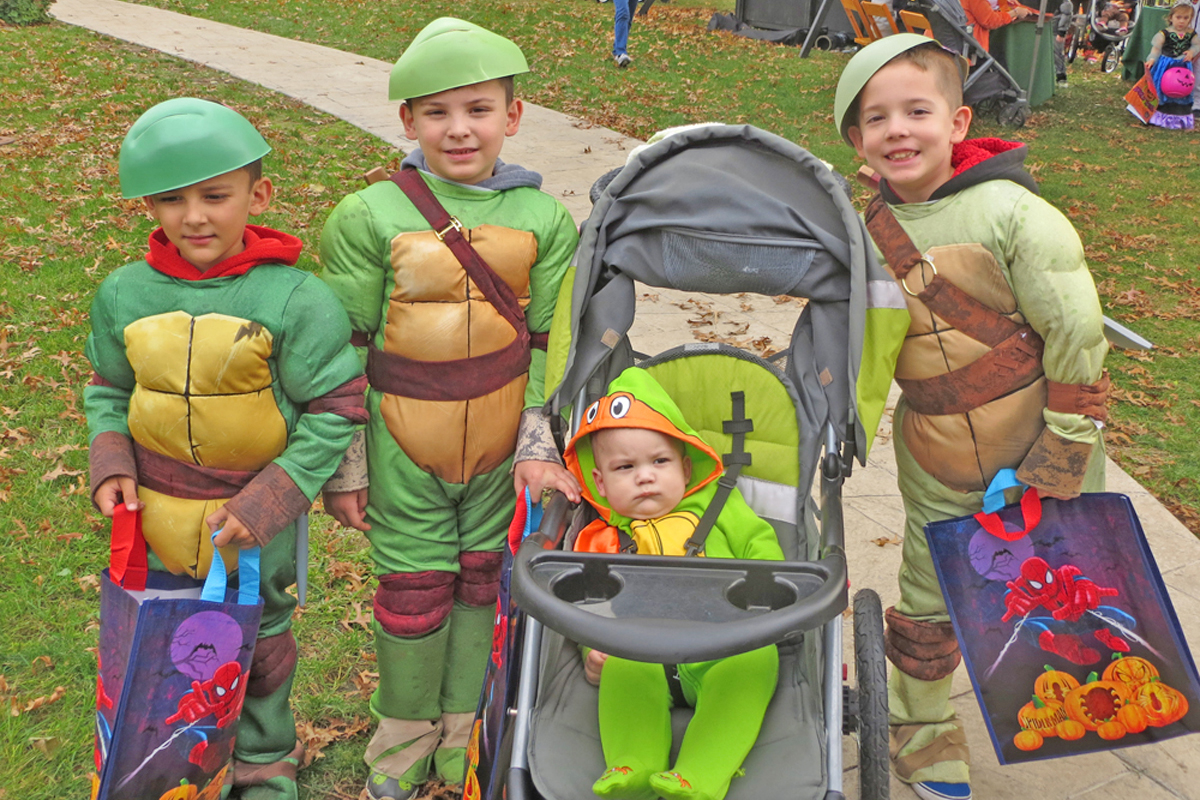 Teenage Mutant Ninja Turtles save the day!