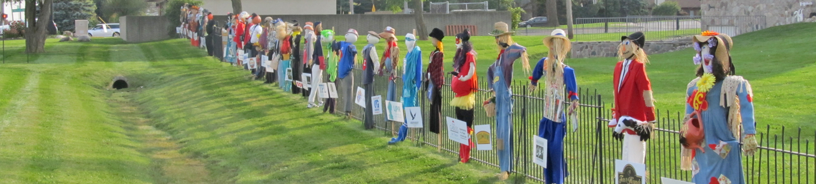 Scarecrow Row 2016 Gallery