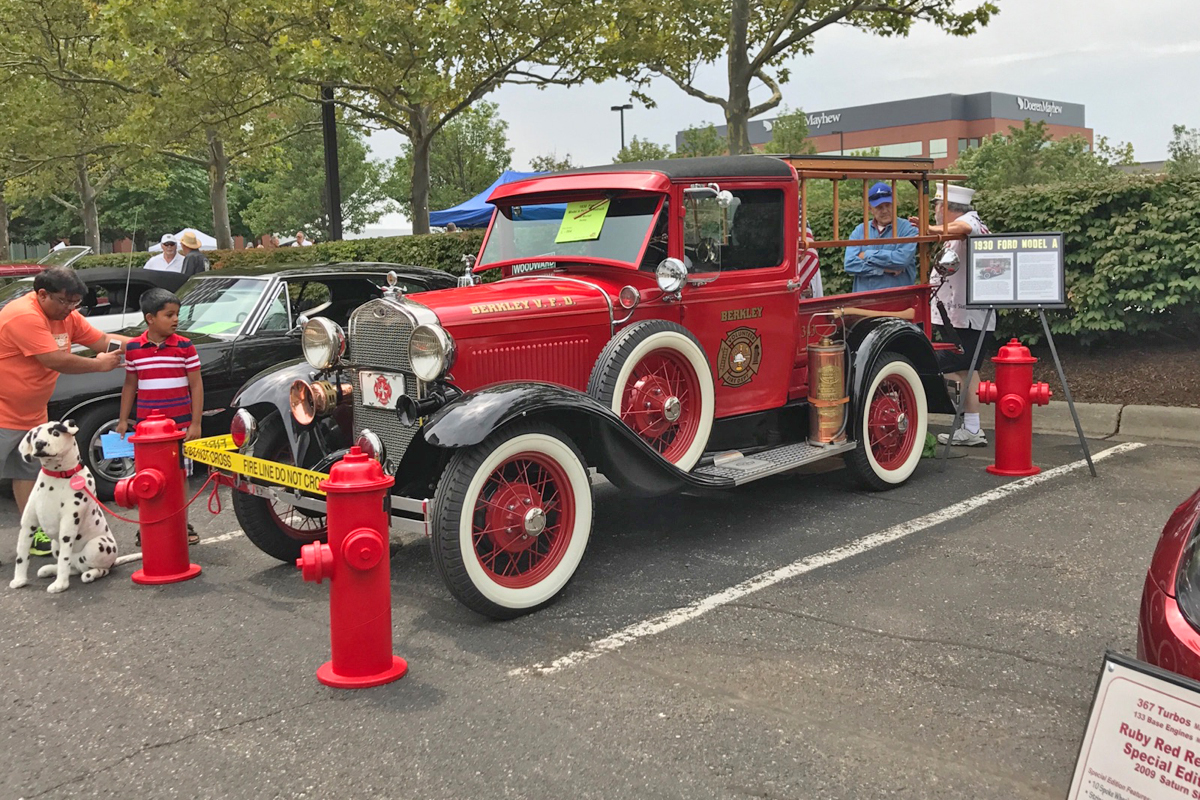 1930-Ford-Model A-Berkley Fire Engine