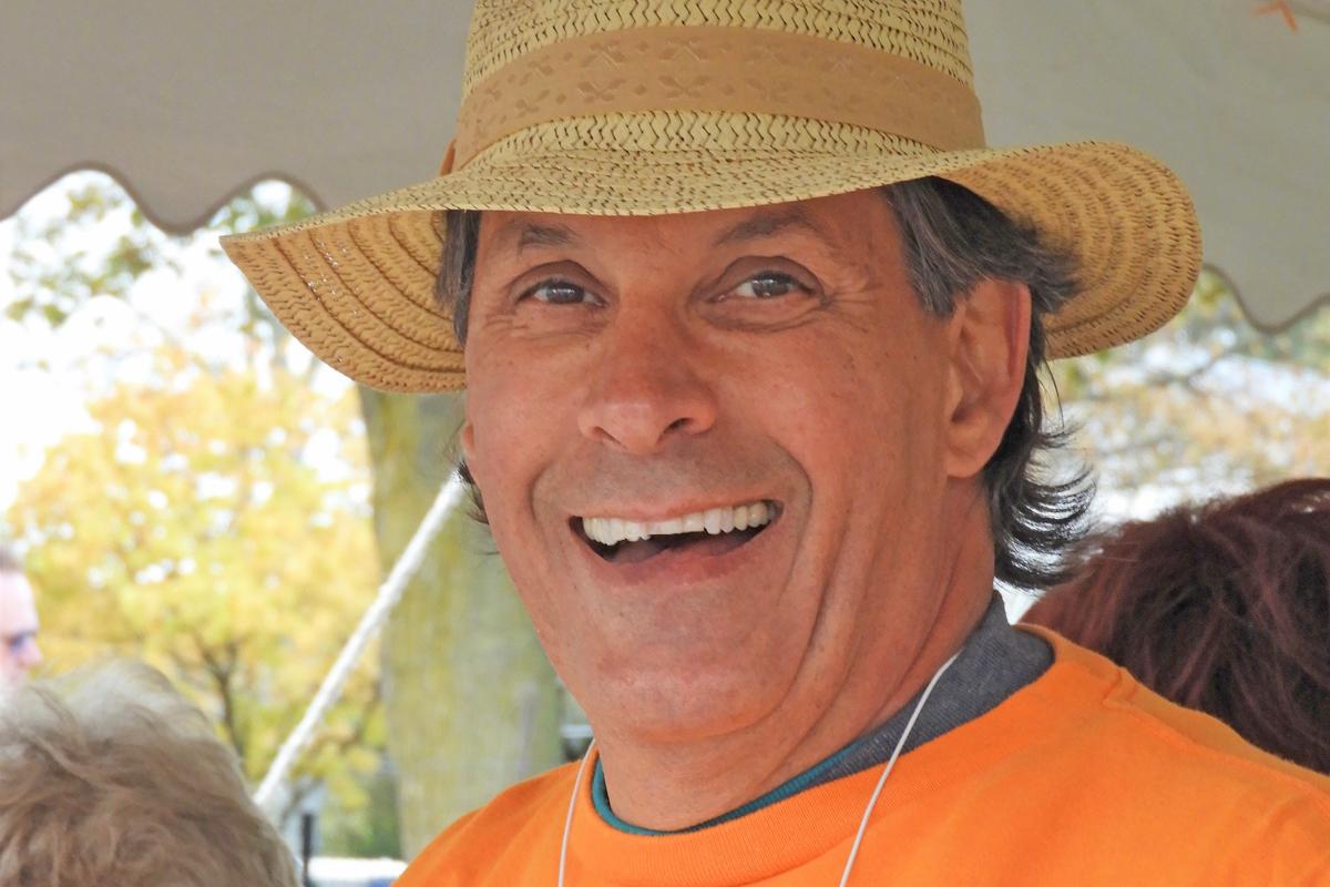Admission Tent Volunteer Bill Ziemba