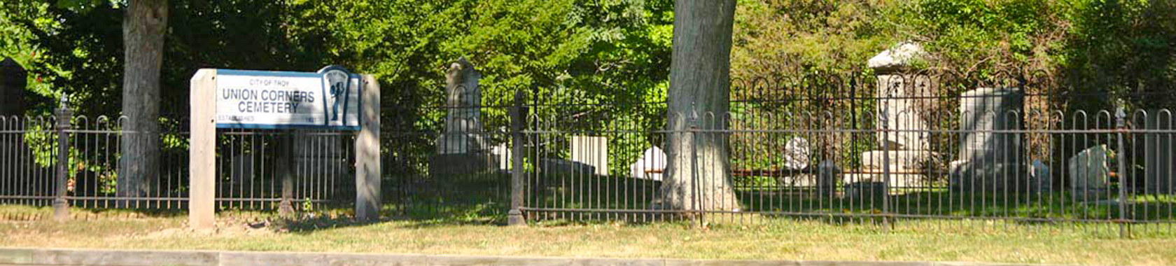 Union Corners Cemetery Walk
