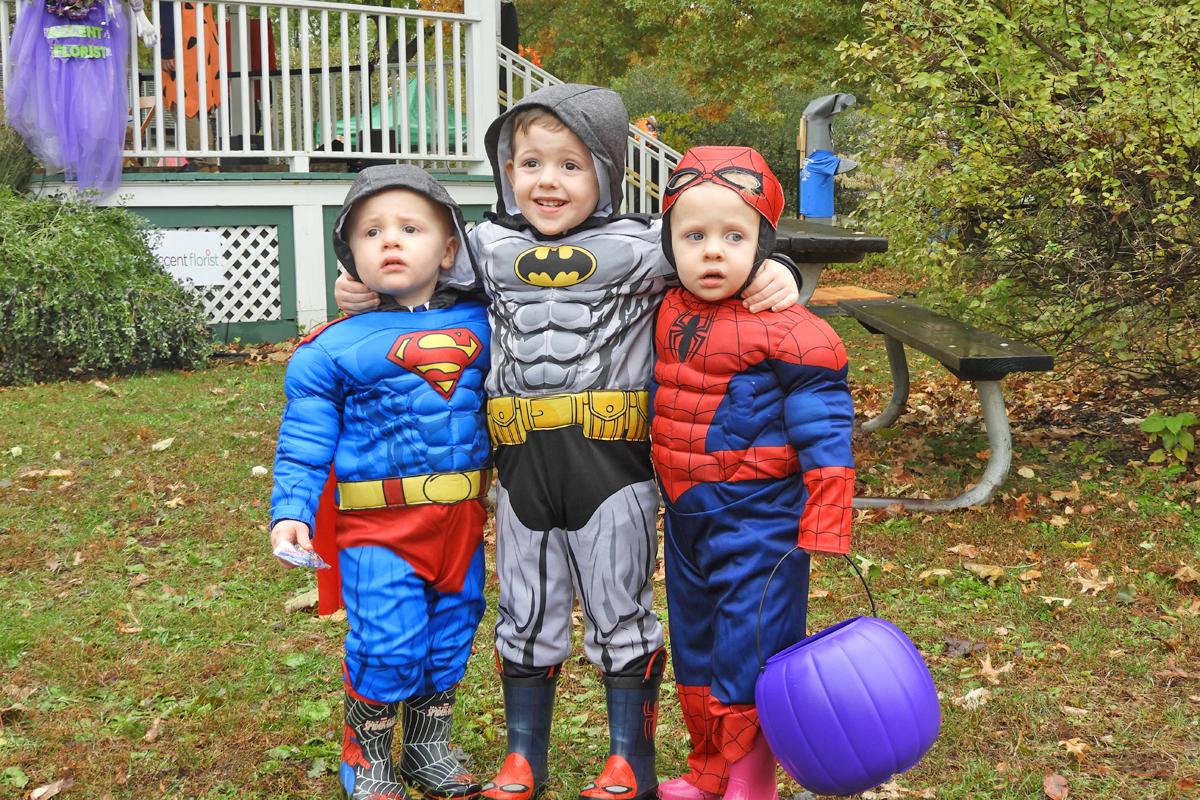 Halloween super heros!