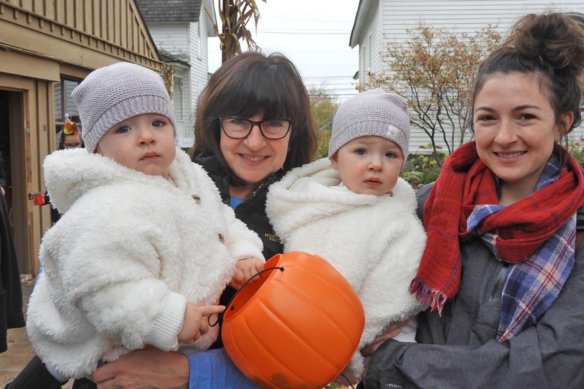 Halloween kids warm and cozy