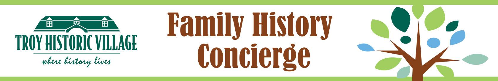 Family History Concierge